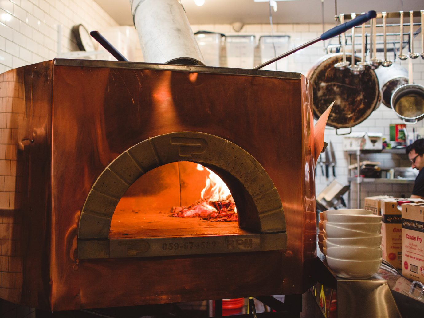 Brooklyn City Food + Drink NYC masonry oven wood burning stove kitchen appliance heat hearth home appliance oven