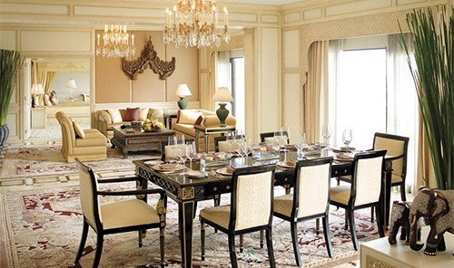 Hotels floor indoor dining room window room interior design living room function hall restaurant meal table estate Suite furniture