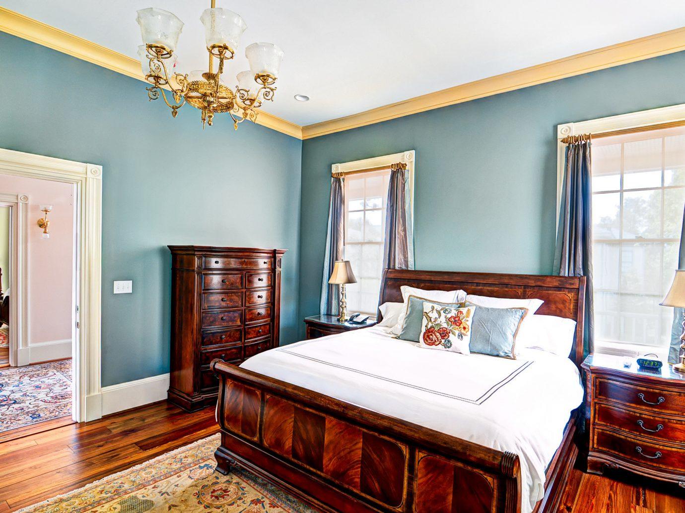 Trip Ideas indoor wall floor window room Bedroom property bed estate home living room real estate hardwood interior design cottage Suite mansion Villa furniture