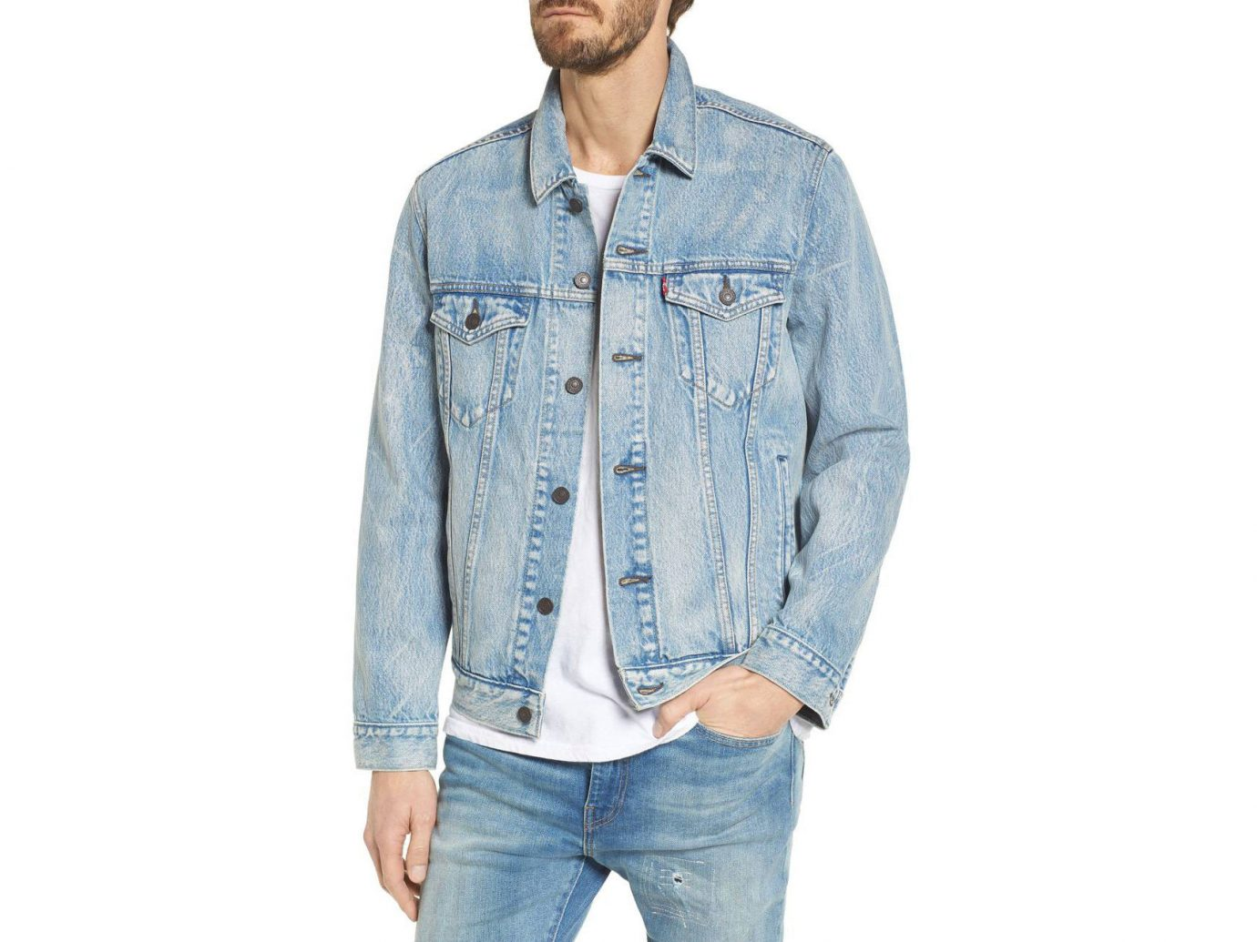 Style + Design Travel Shop person denim standing jacket wearing jeans sleeve textile outerwear material product hat posing button trousers