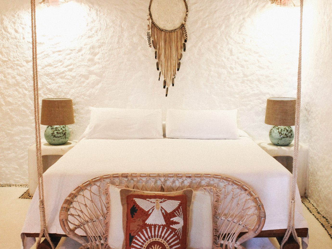 Beach Honeymoon Hotels Mexico Romance Tulum wall indoor room furniture interior design bed frame bed Suite Bedroom ceiling mattress product textile floor bedding flooring bed sheet table