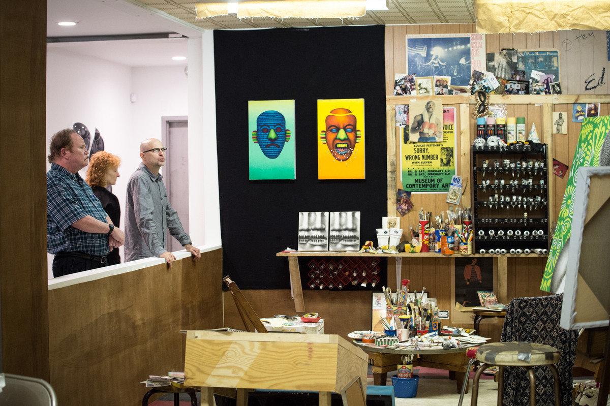 activities art artistic Arts + Culture artsy Budget gallery paintings people indoor Design