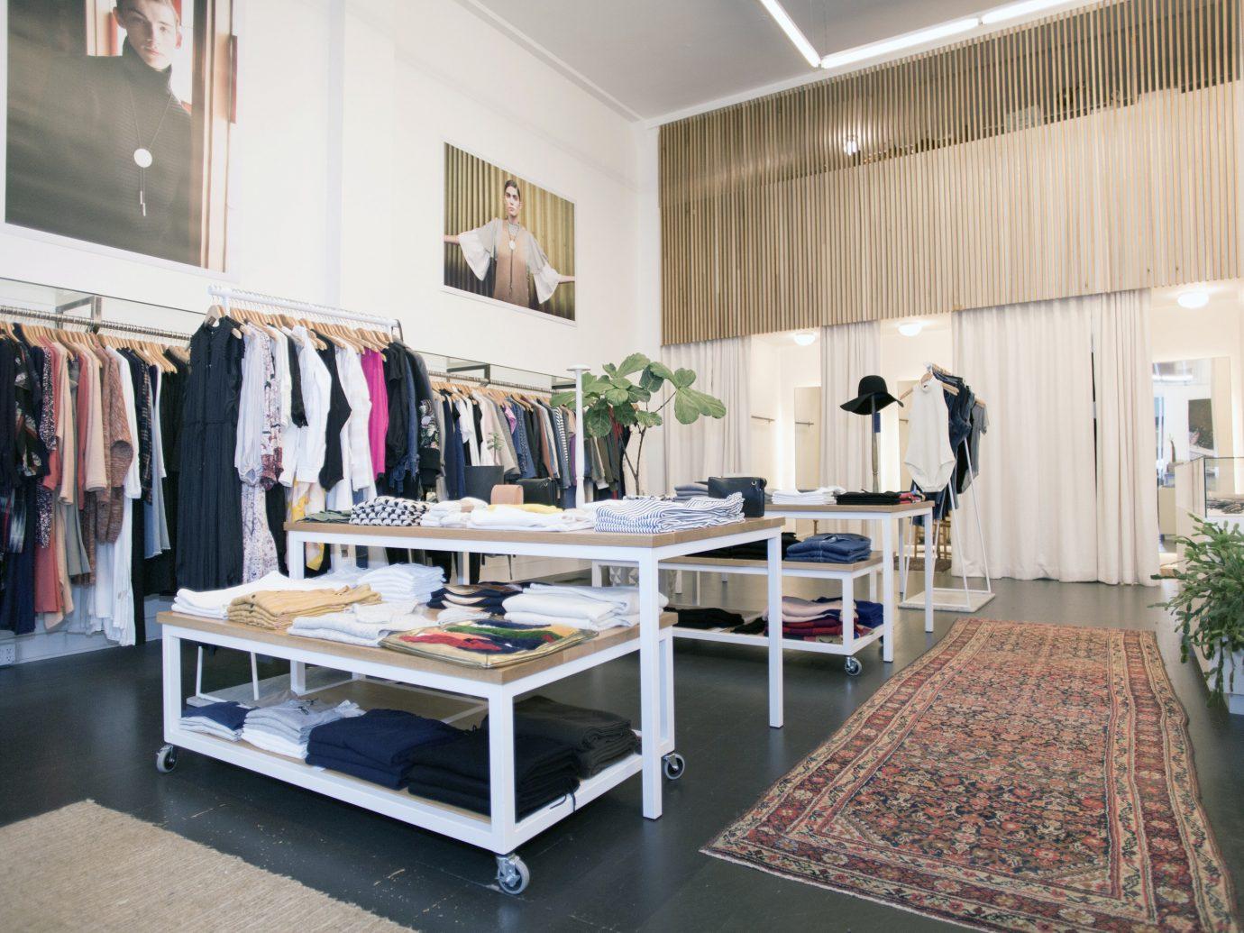 Food + Drink Style + Design Trip Ideas Weekend Getaways floor indoor Boutique room interior design furniture retail flooring