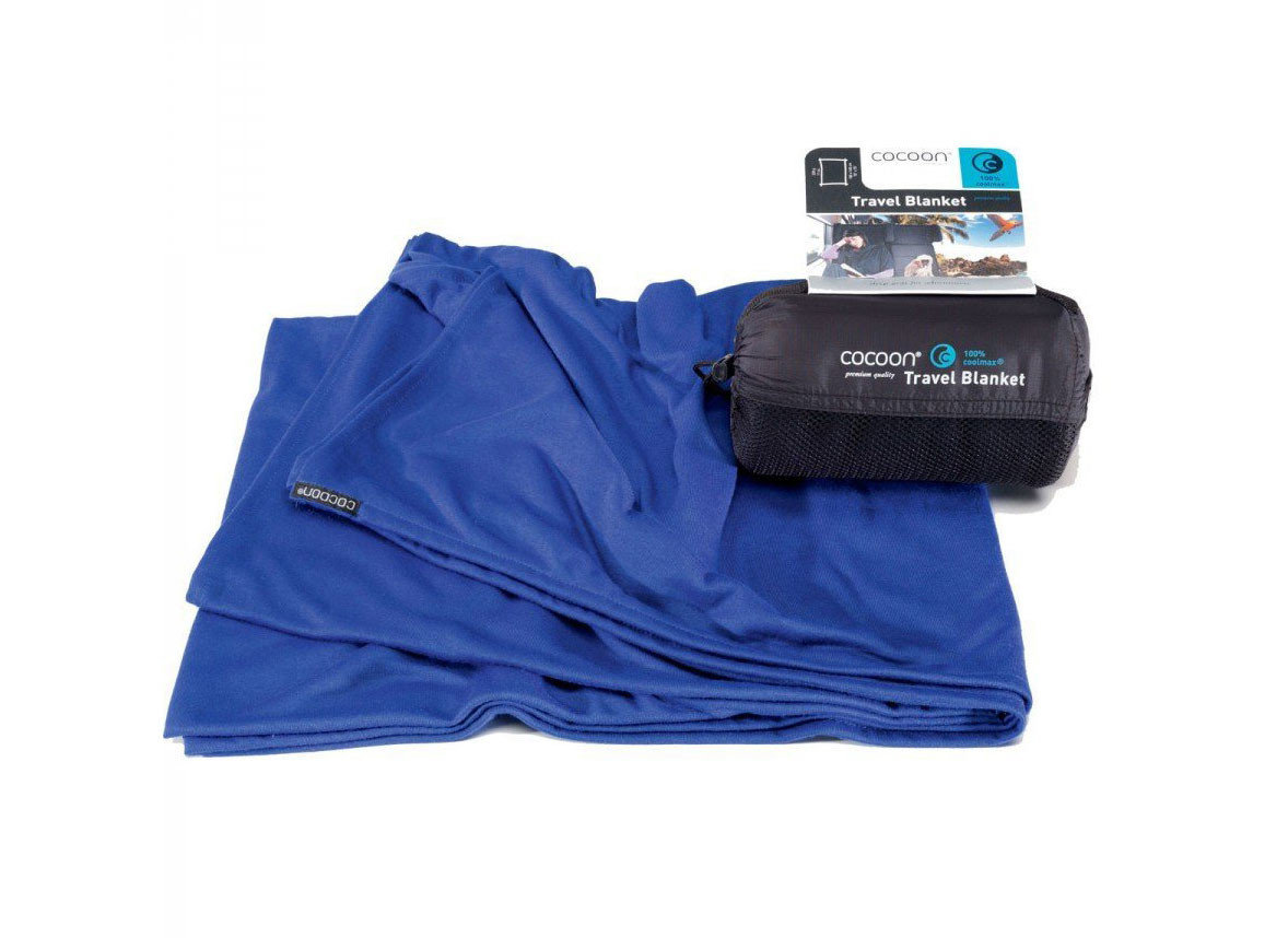 Travel Tips blue product bag arm
