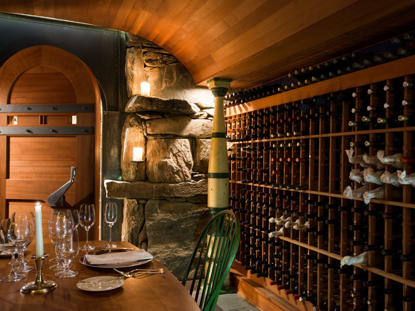 Hotels Romance indoor man made object ceiling room Winery interior design wine cellar Bar restaurant estate basement