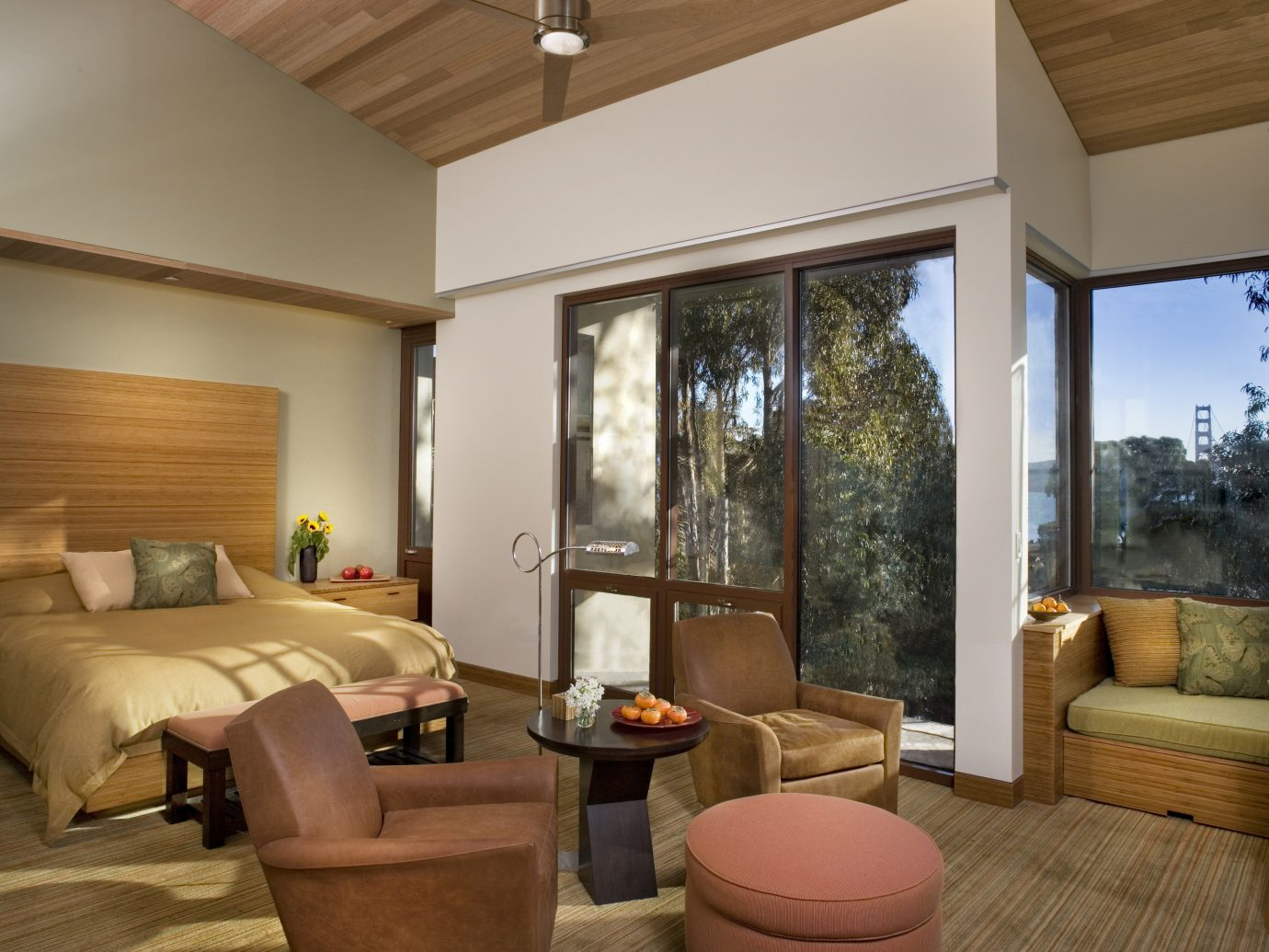 Hotels indoor floor ceiling room window property living room estate home hardwood interior design real estate wood Design Suite furniture wood flooring Villa cottage area