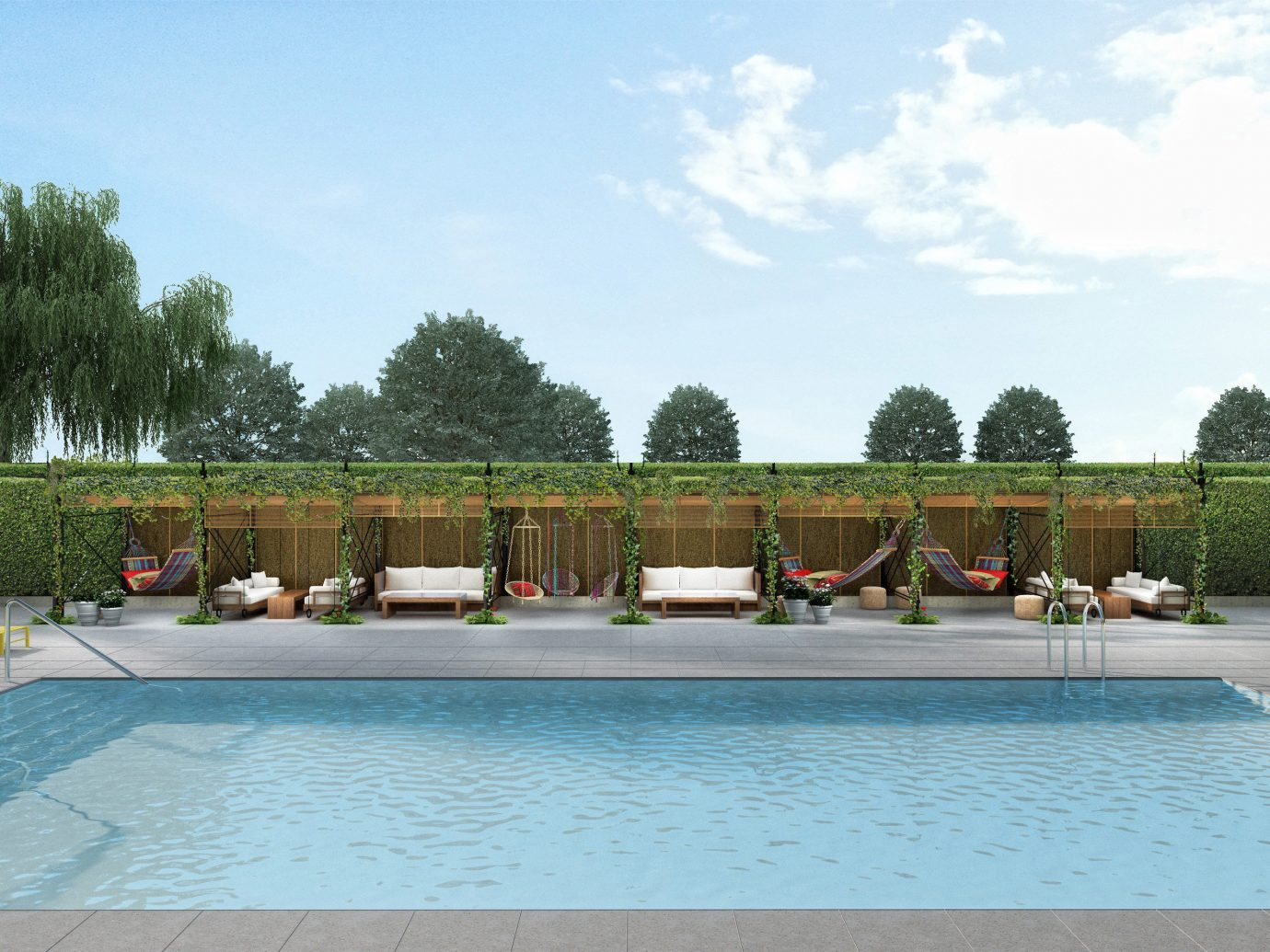 Hotels Solo Travel sky tree outdoor swimming pool leisure property estate reflecting pool Resort backyard Villa real estate Pool swimming
