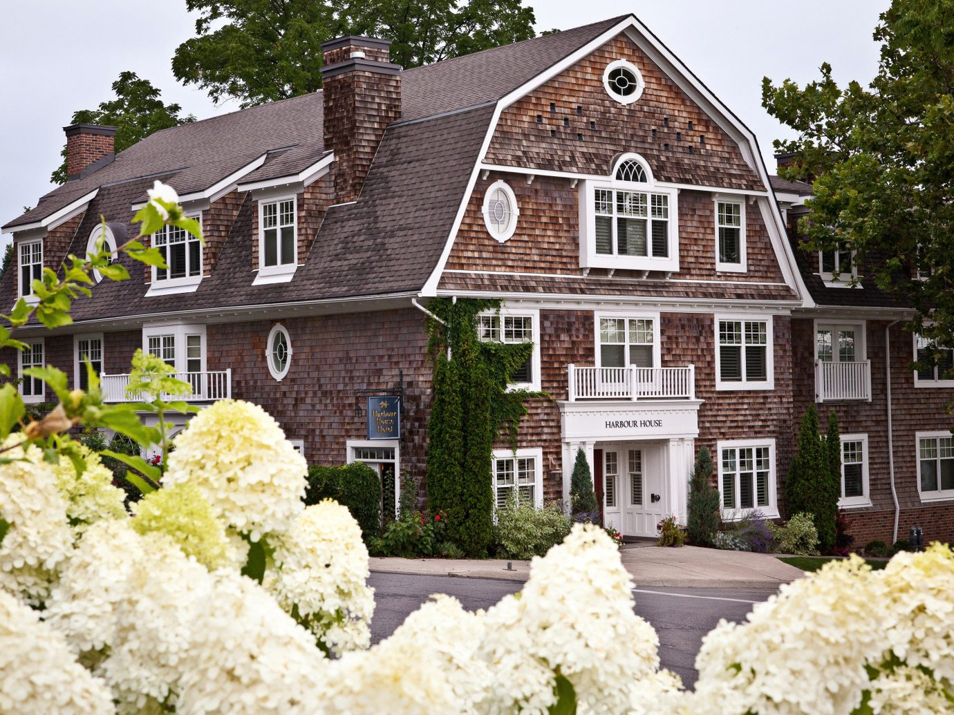 Buildings Exterior Hotels Luxury Romance Romantic Rustic Scenic views building tree outdoor house flower home estate mansion cottage residential area Garden manor house farmhouse