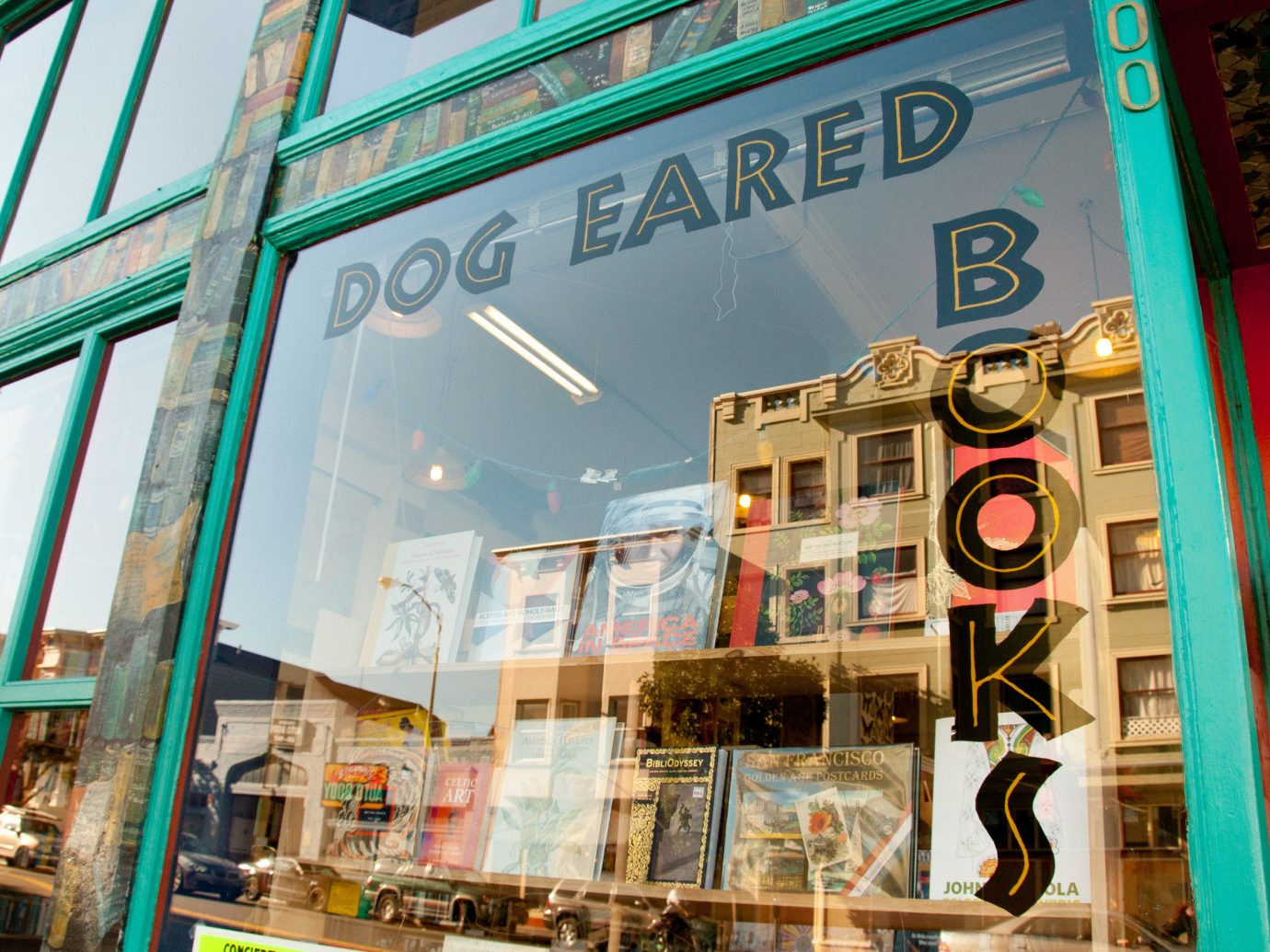 Offbeat outdoor urban area retail bookselling shopping interior design Design store