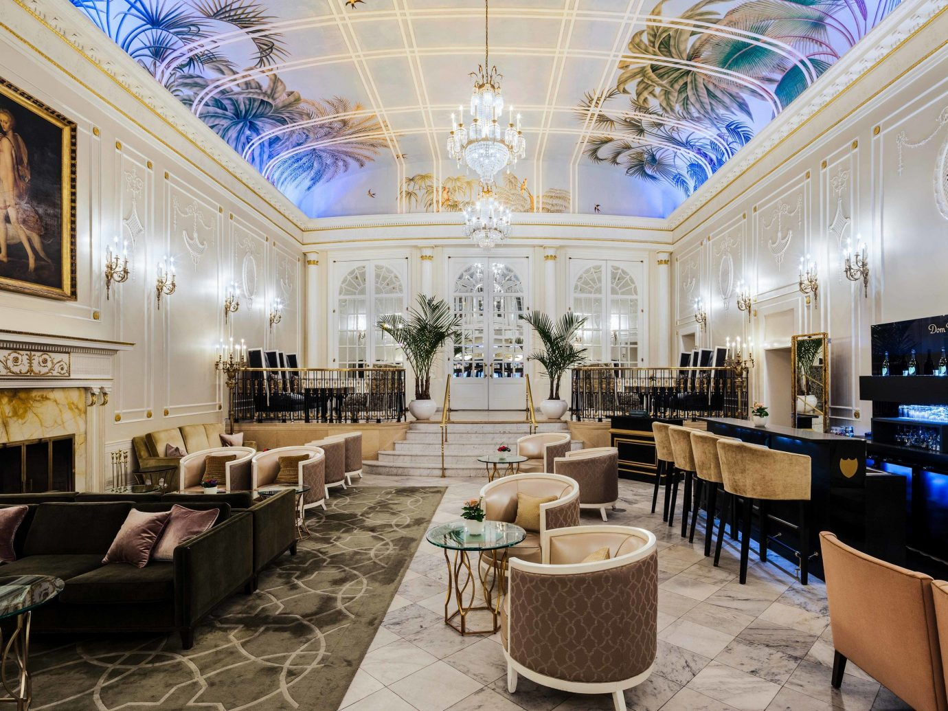 Canada Hotels Montreal Trip Ideas indoor chair interior design Lobby room ceiling function hall restaurant estate furniture decorated several dining room