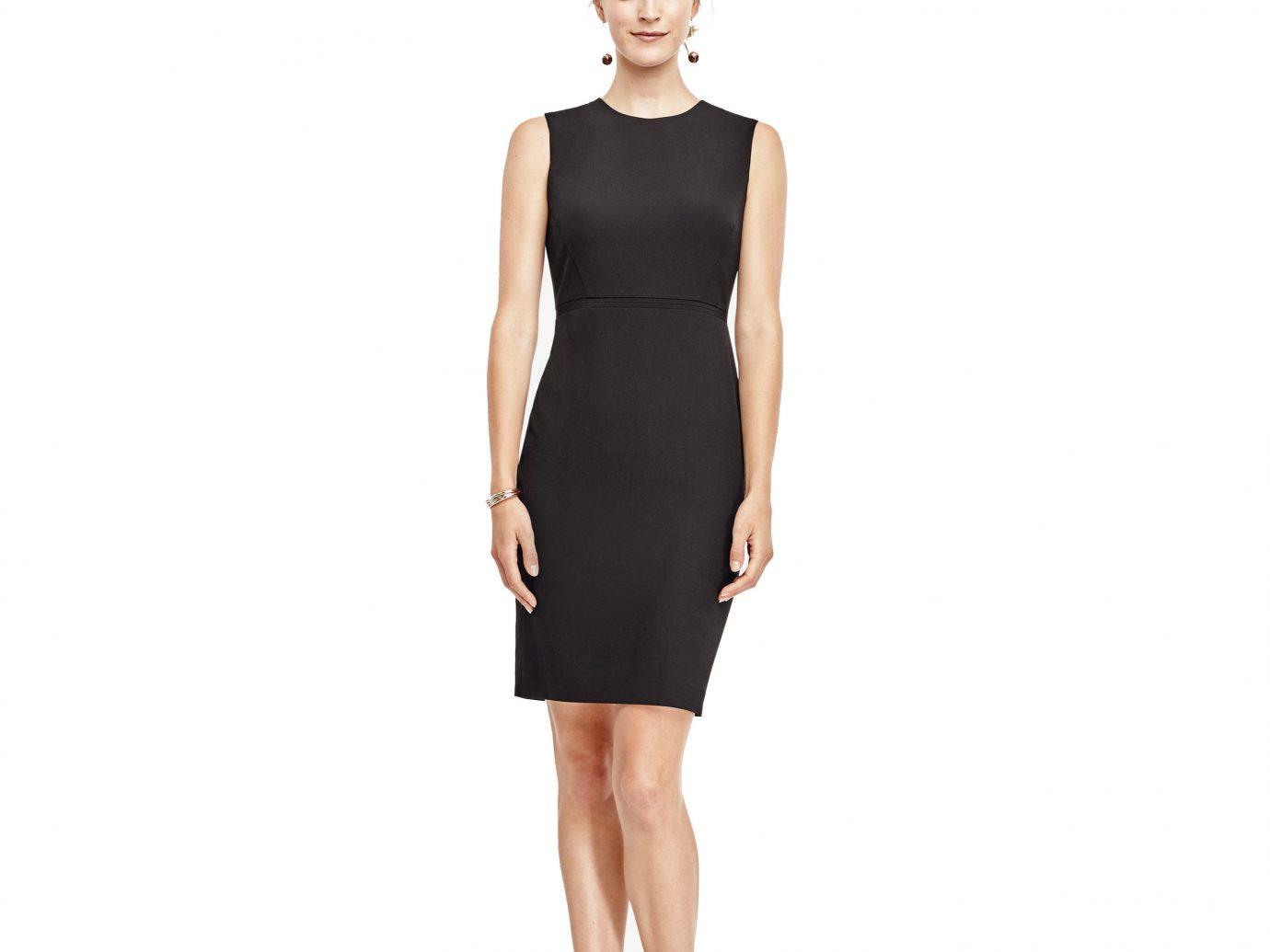 Style + Design clothing dress day dress sleeve cocktail dress little black dress gown neck formal wear textile human body abdomen posing