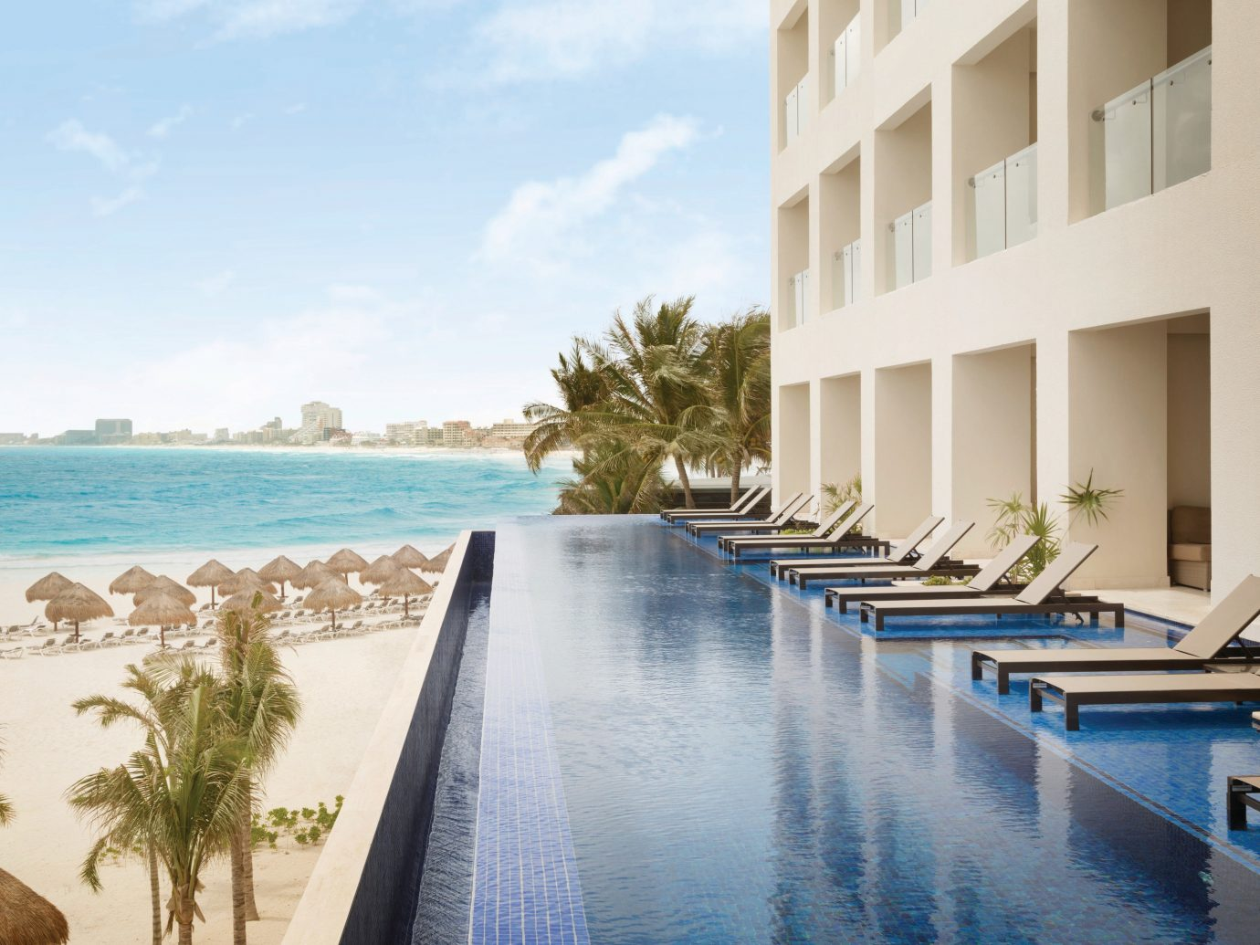 Pool at Hyatt Ziva Cancun