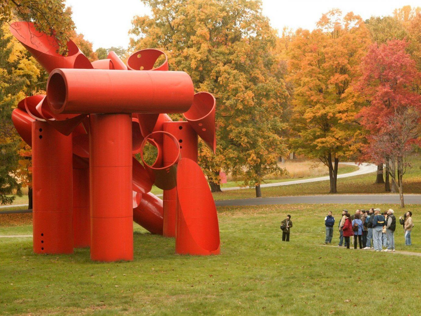 An art sculpture in Beacon New York