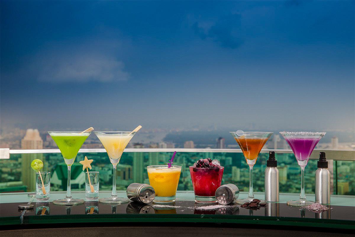 Drinks at Siccoro at Lebua at State Tower