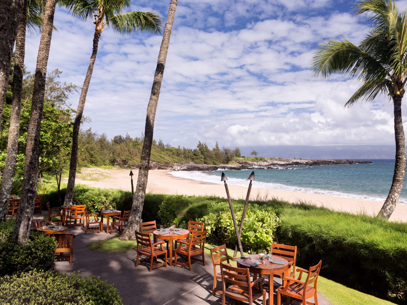 Boutique Hotels Hotels Luxury Travel outdoor tree water grass sky body of water vacation Beach River estate palm arecales Lake Sea plant overlooking lined shore