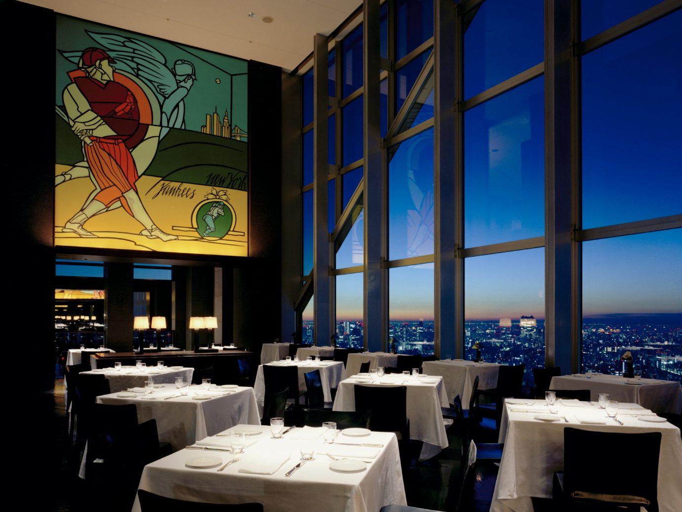 indoor restaurant window interior design Design