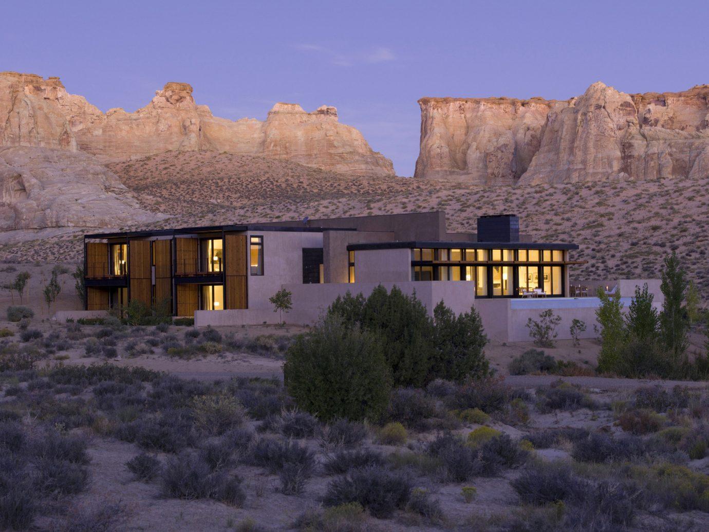 Hotels Romance outdoor grass mountain snow house Winter rock landscape valley monastery old terrain ruin stone