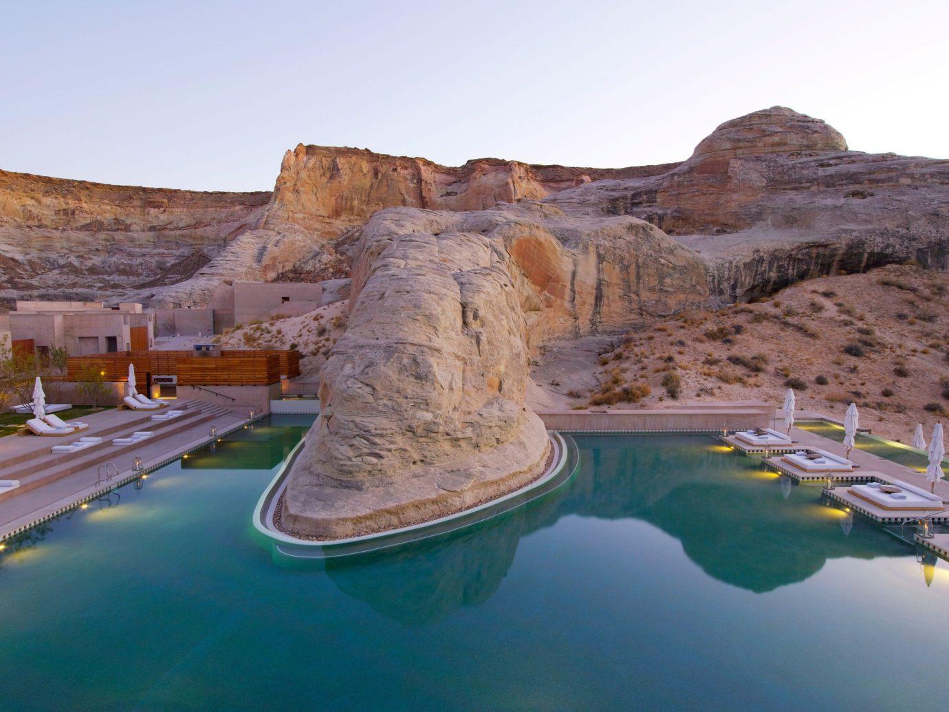Trip Ideas sky outdoor mountain landmark valley Lake Nature wadi landscape terrain cliff reservoir several