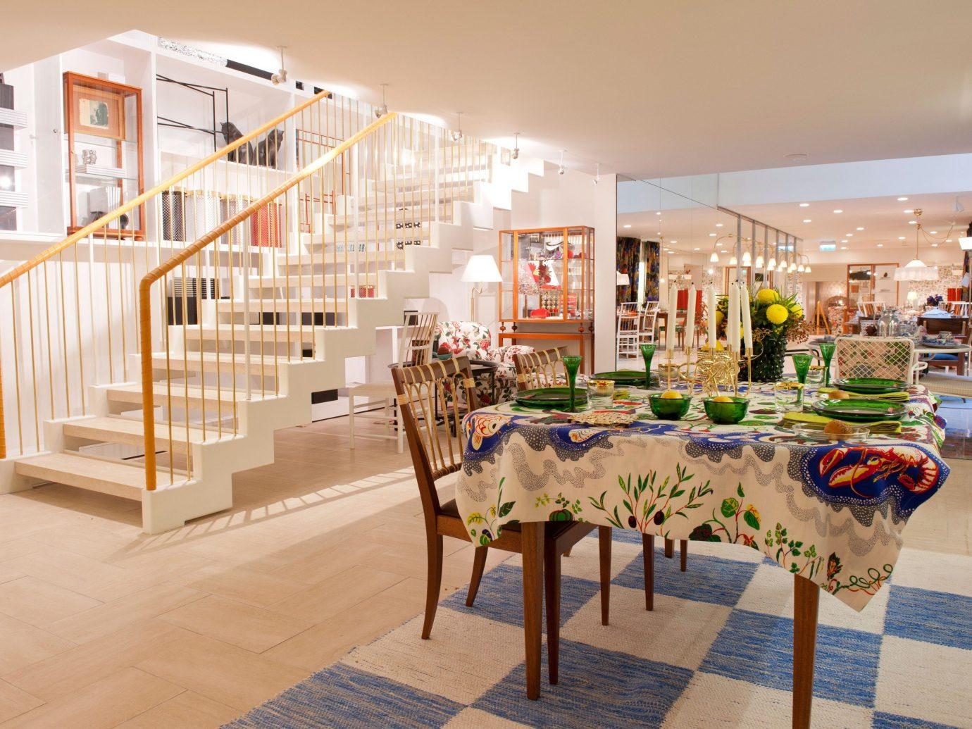 Style + Design floor indoor ceiling room retail scene interior design art shopping mall Design Lobby furniture