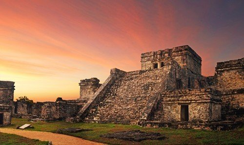 Trip Ideas grass sky outdoor building historic site archaeological site landmark Ruins stone old castle ancient history panorama