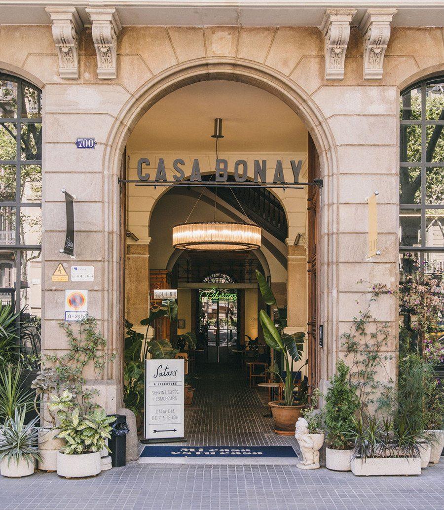Barcelona Hotels Spain building outdoor Architecture door facade neighbourhood arch Courtyard arcade house window store stone