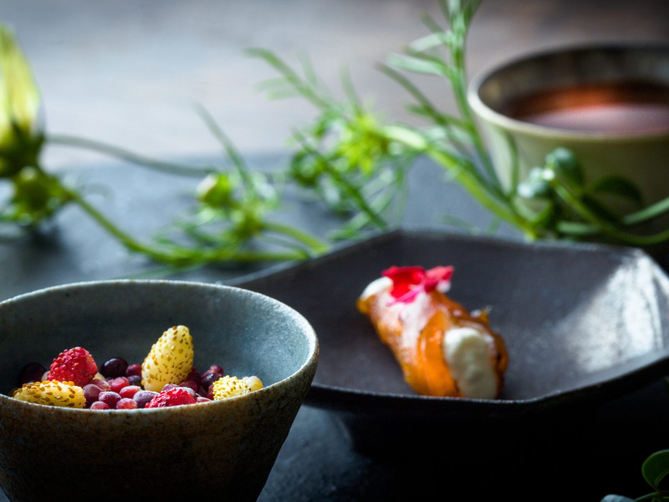 Food + Drink Hotels bowl plant flower food produce leaf meal still life fruit flowering plant