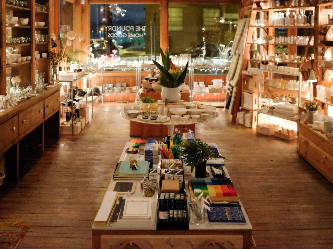 Trip Ideas floor indoor grocery store retail wooden meal restaurant interior design bookselling wood furniture store Bar Shop