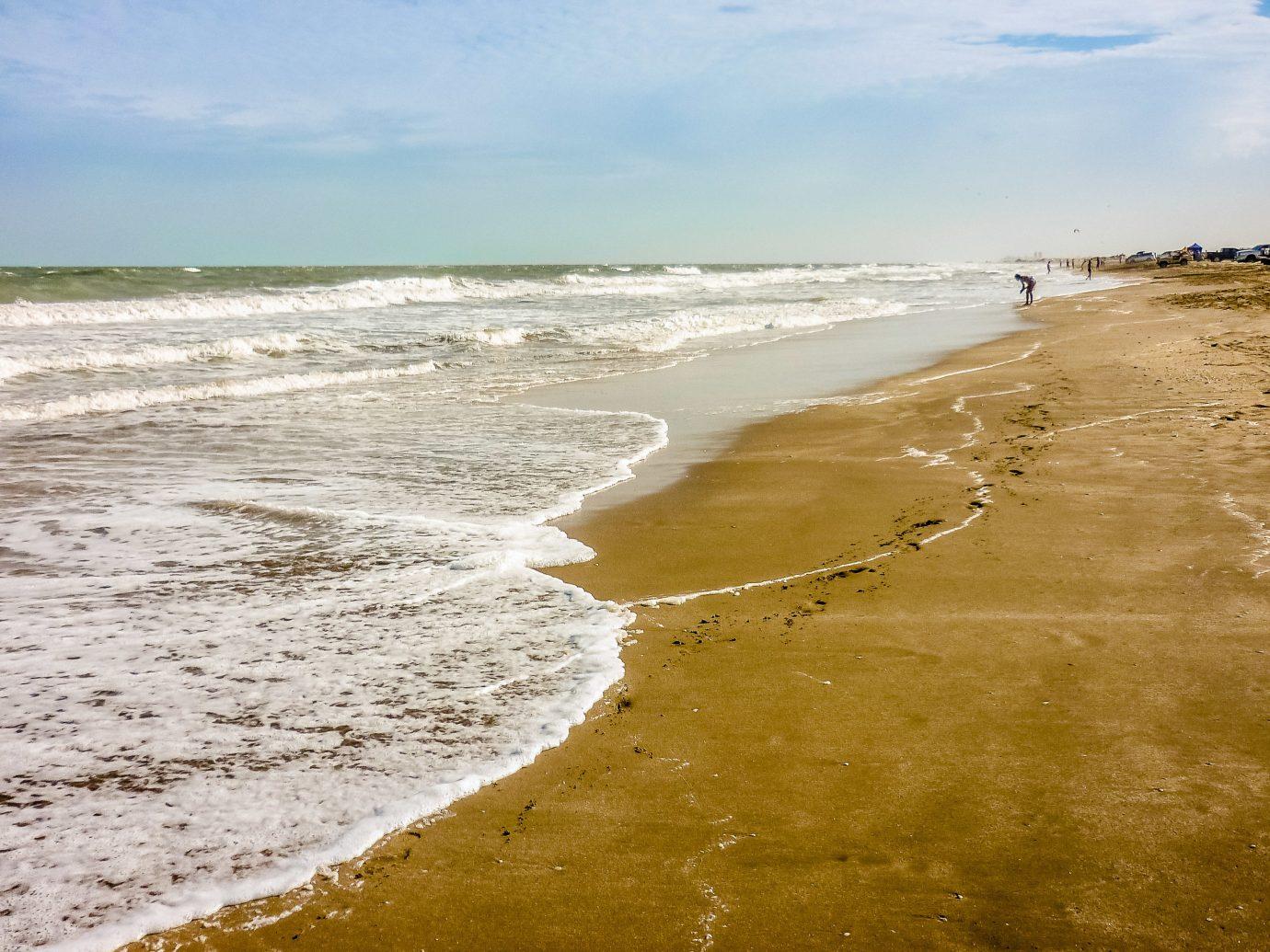 Trip Ideas outdoor sky Beach water shore Nature Sea body of water Coast coastal and oceanic landforms Ocean wave sand wind wave horizon cloud tide sandy