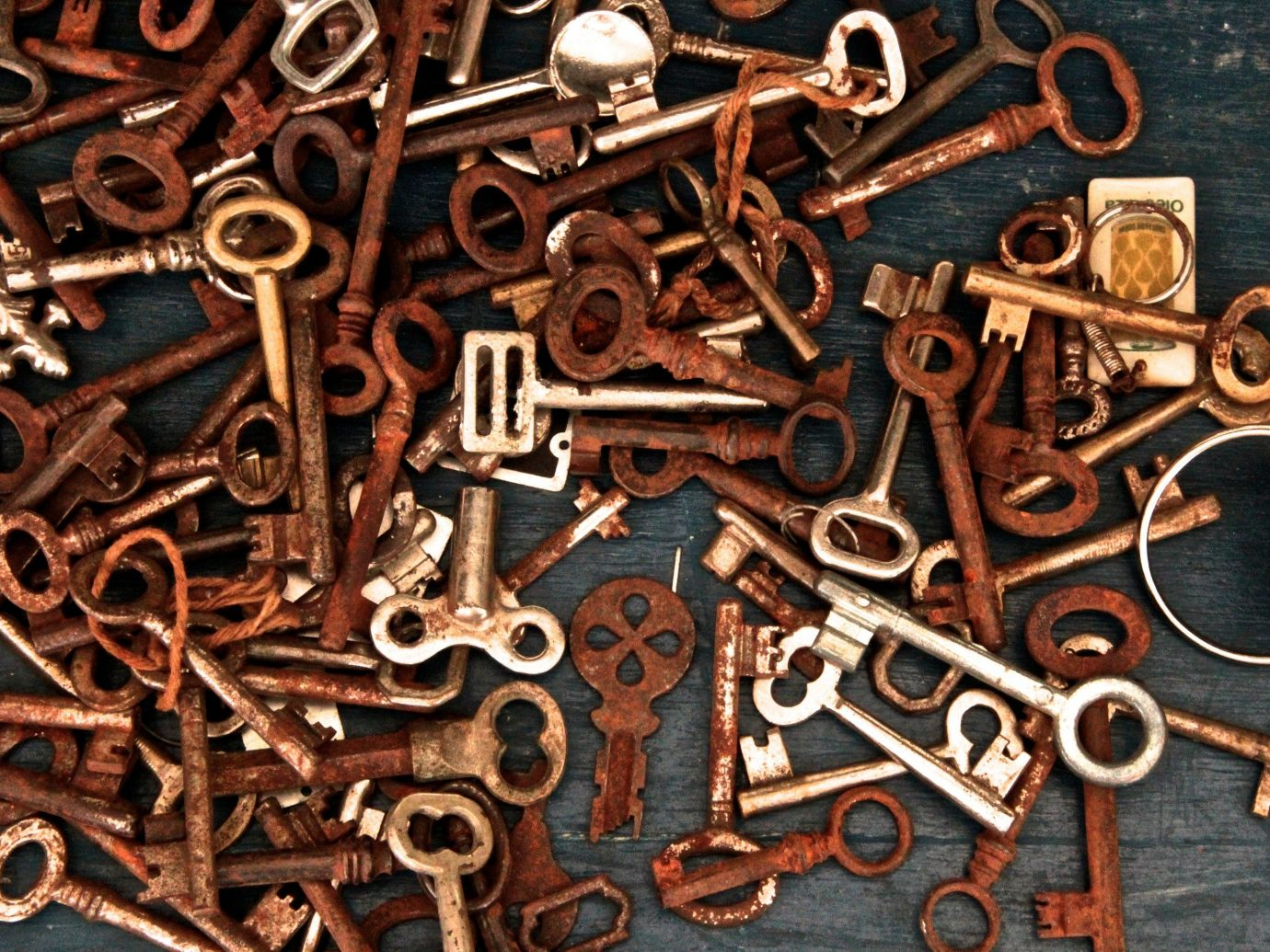 Trip Ideas iron font metalware key scrap wood art carving metal copper material number