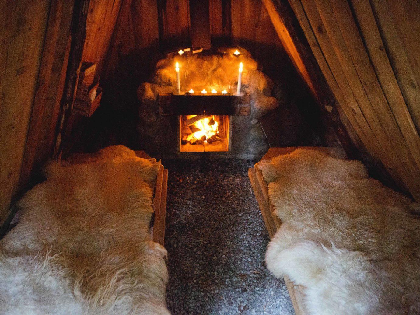 Boutique Hotels Sweden indoor Nature wood hearth heat floor flooring Fireplace