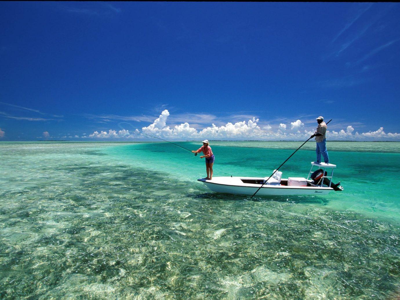Fishing at Kamalame Cay