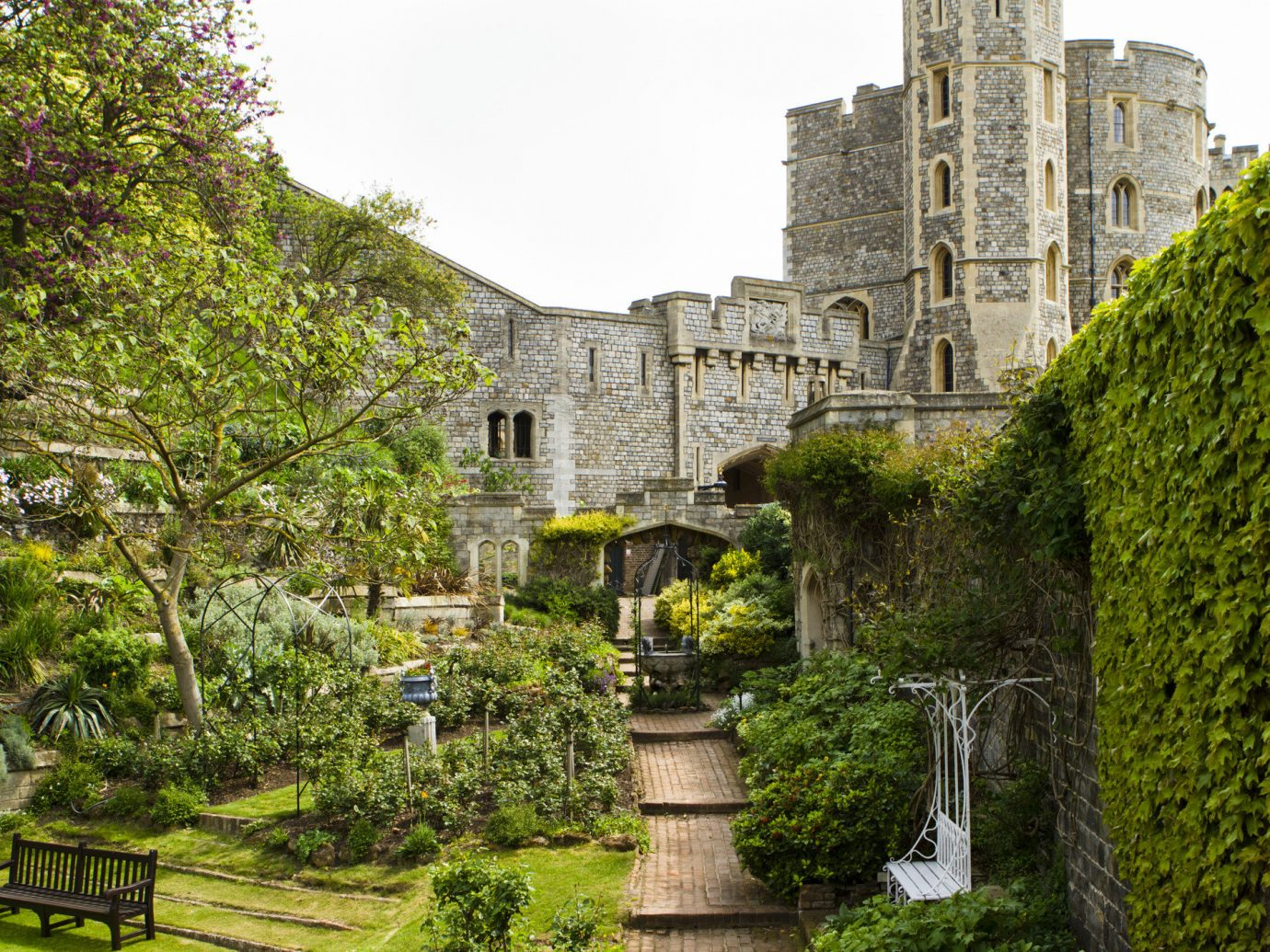 Hotels Road Trips Trip Ideas tree outdoor sky building castle grass stately home Garden plant estate Ruins medieval architecture national trust for places of historic interest or natural beauty old stone