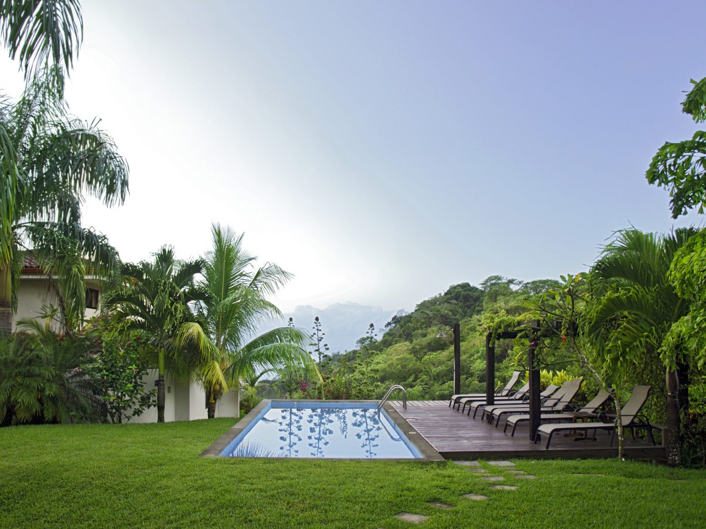 Pool at Casa Frangipani in Costa Rica