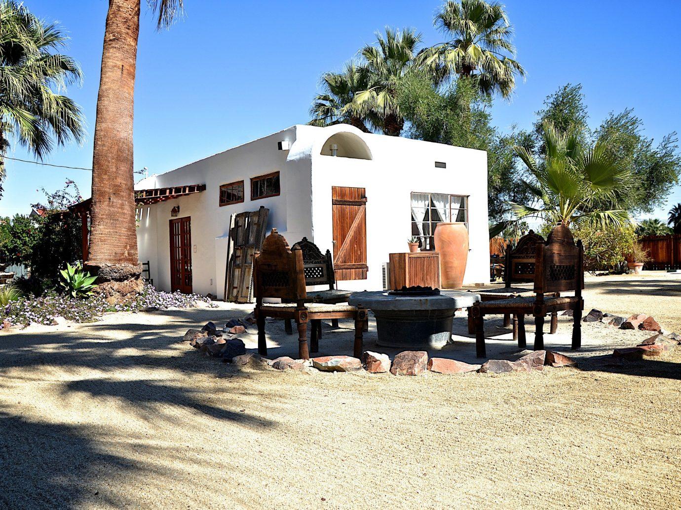 Exterior of Korakia Pensione, Palm Springs California