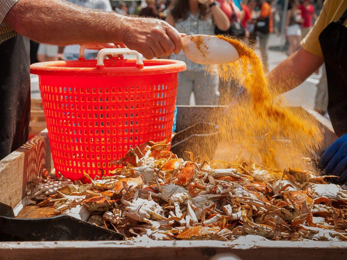 Trip Ideas person food dish market street food cuisine Seafood asian food meal