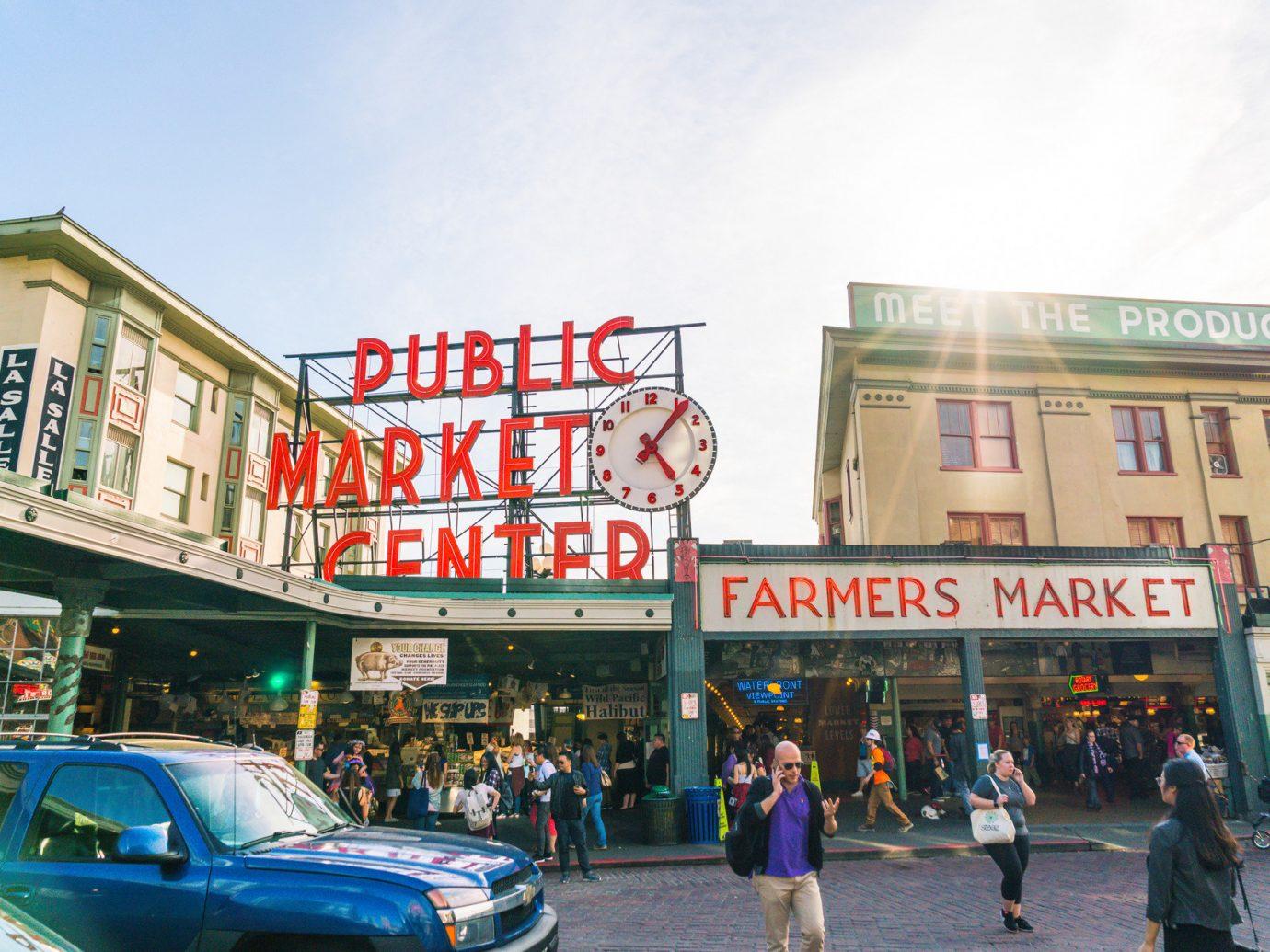 Pike Place market in Seattle, WA