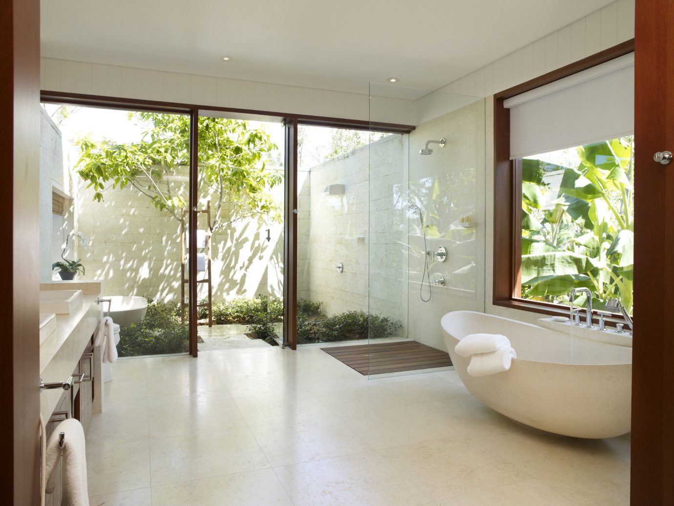 Bathroom At Como Parrot Cay