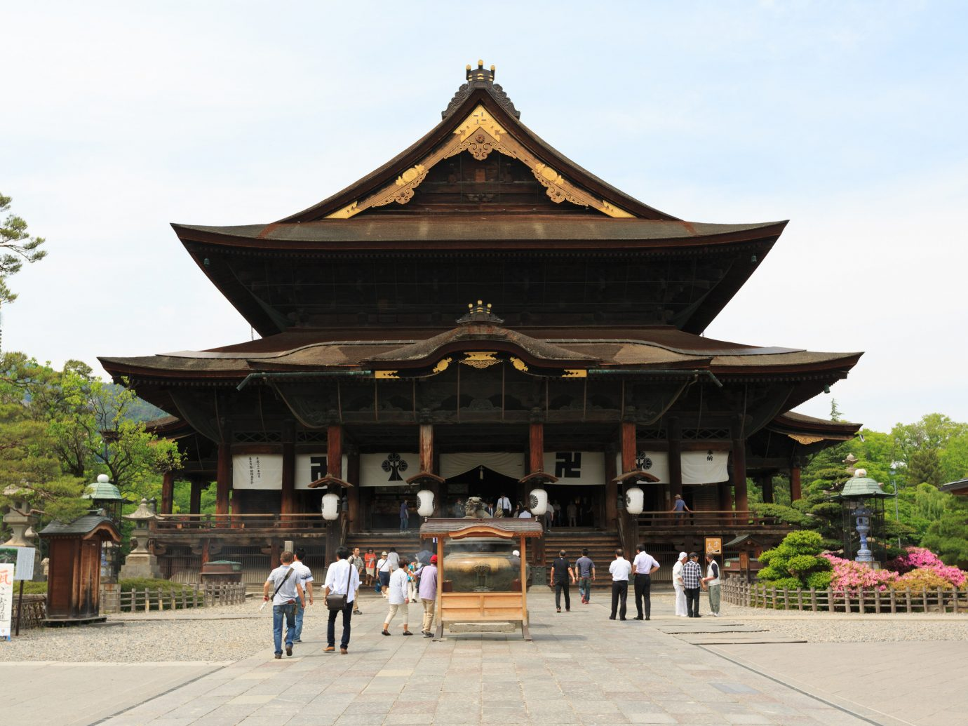 Adventure outdoor sky chinese architecture japanese architecture shinto shrine historic site shrine people temple place of worship building pagoda leisure tree pavilion square