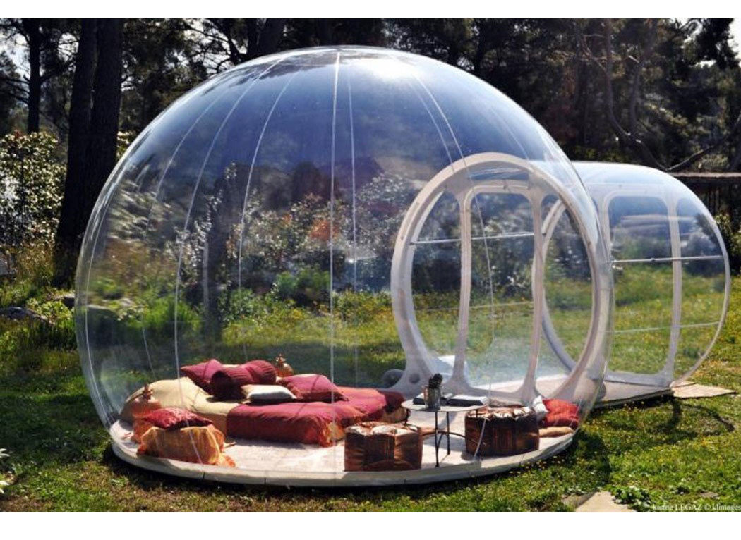 Style + Design grass tree outdoor man made object building leisure dome swimming pool inflatable outdoor structure backyard Boat bell jar