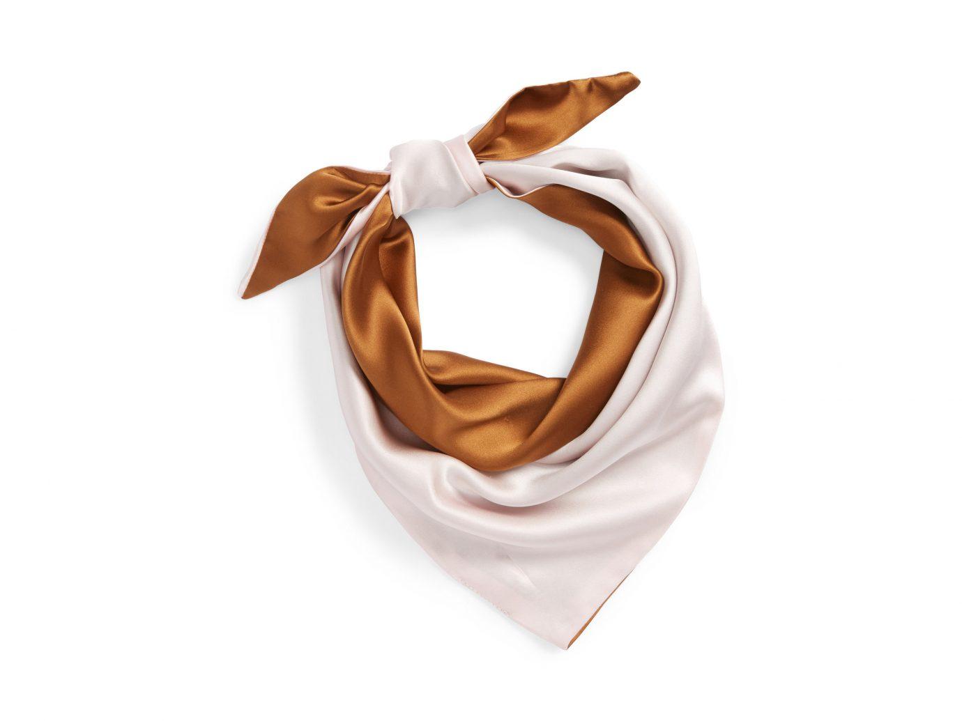 France Style + Design Travel Shop scarf silk beige neck