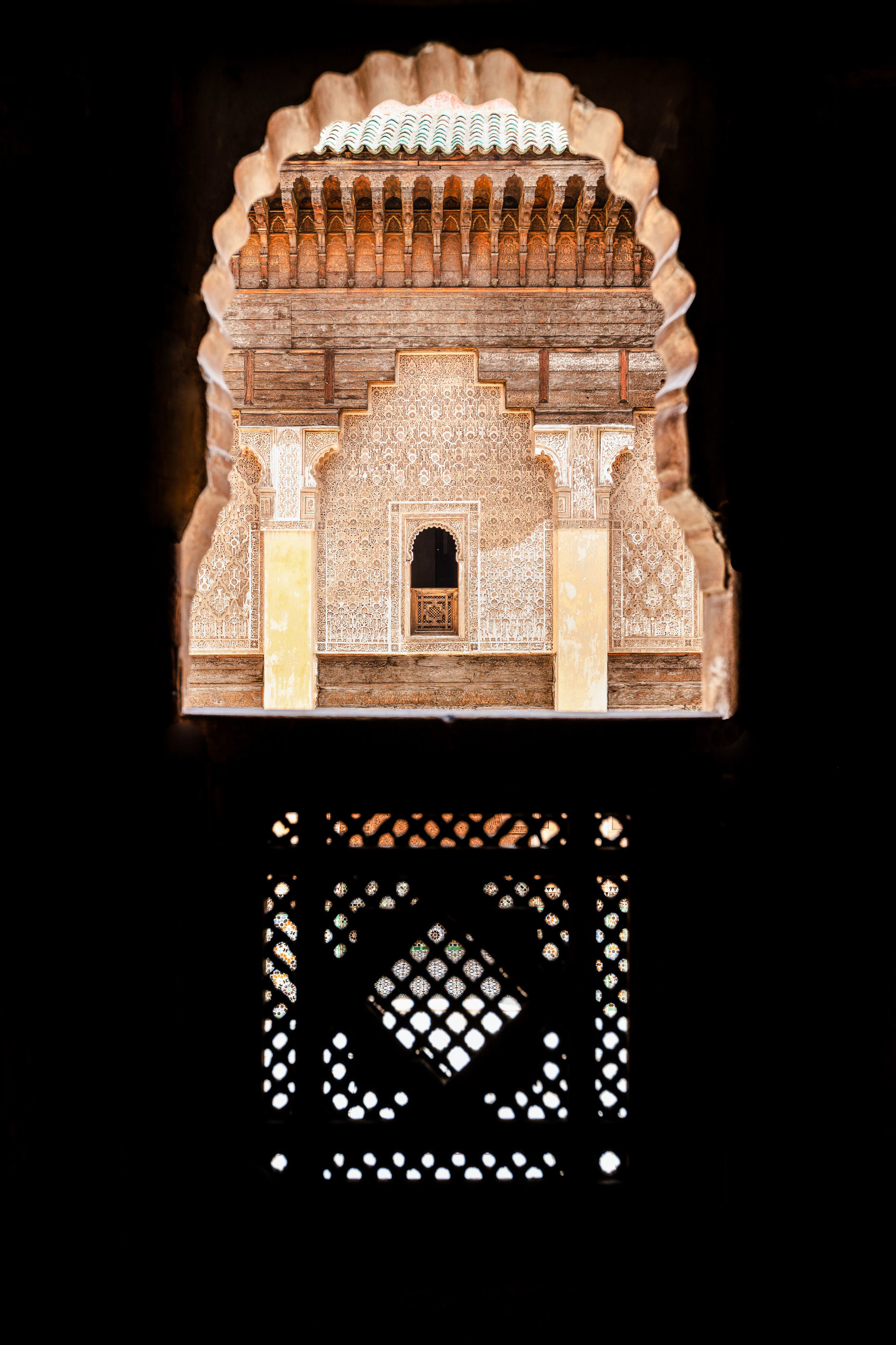 Arts + Culture Marrakech Morocco Style + Design arch Architecture dome medieval architecture font symmetry building historic site stock photography archaeological site
