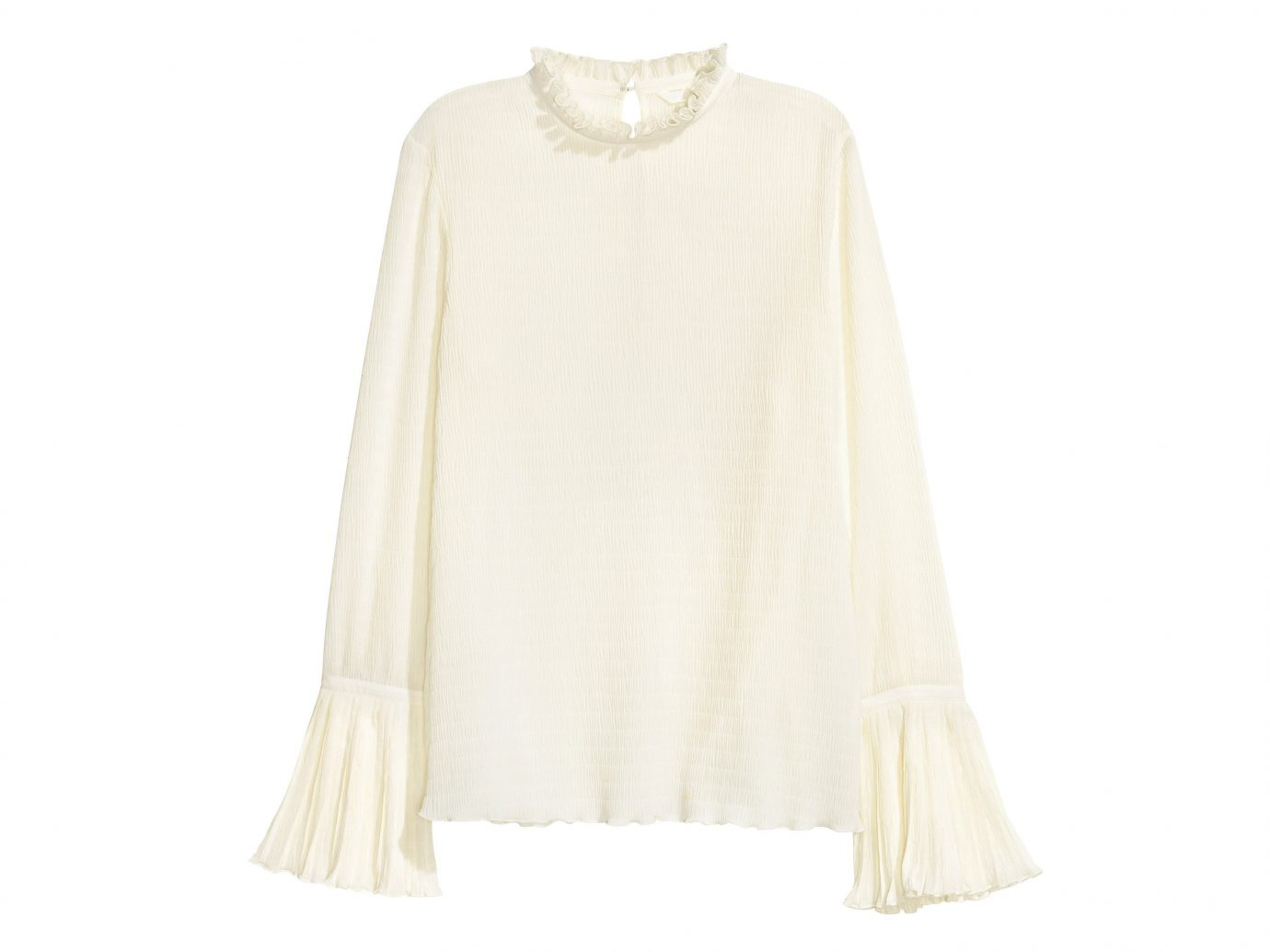 Style + Design clothing indoor day dress sleeve dress gown outerwear blouse textile neck collar beige shirt