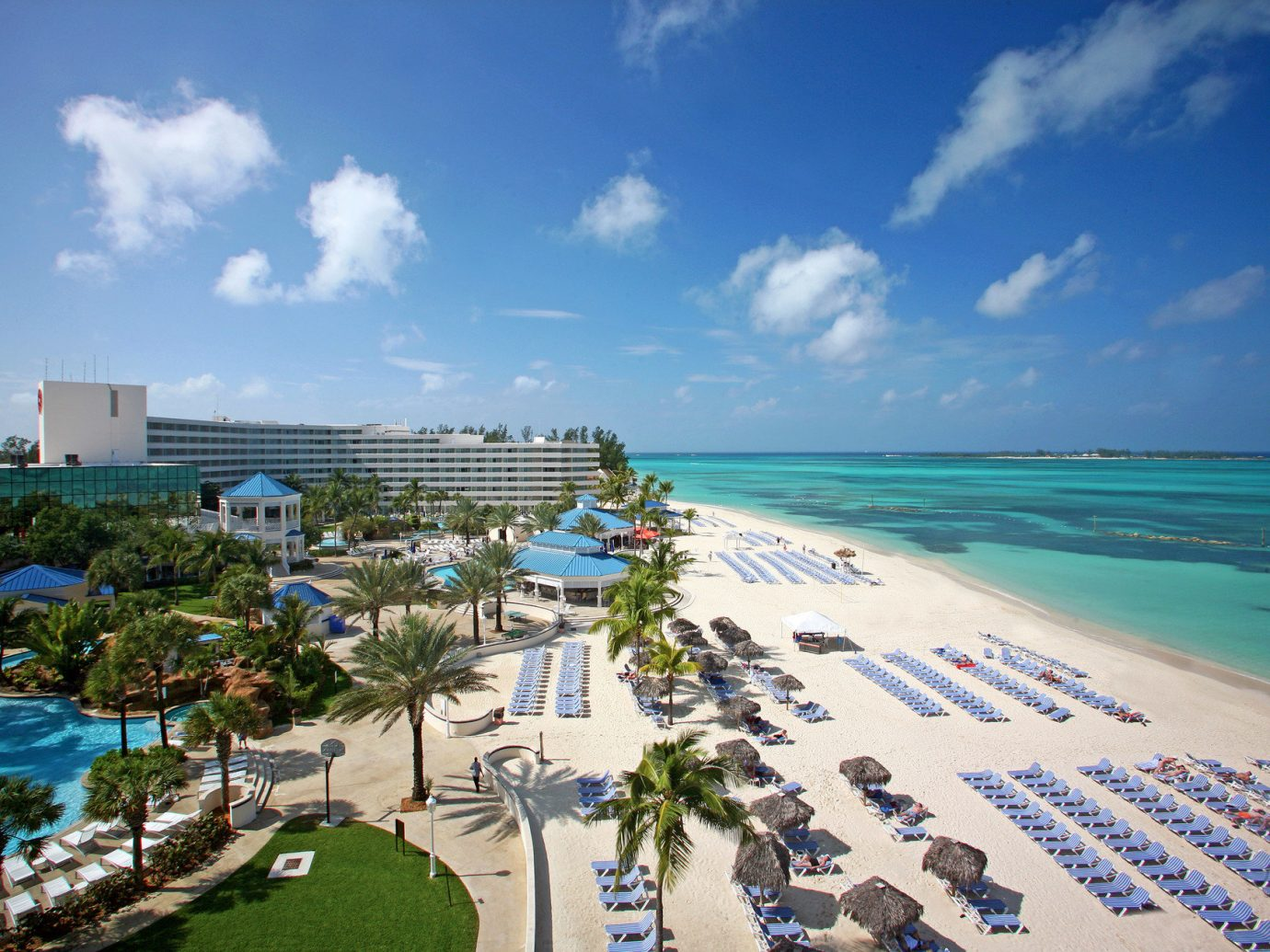 Aerial view of beach at Meliá Nassau Beach - All Inclusive