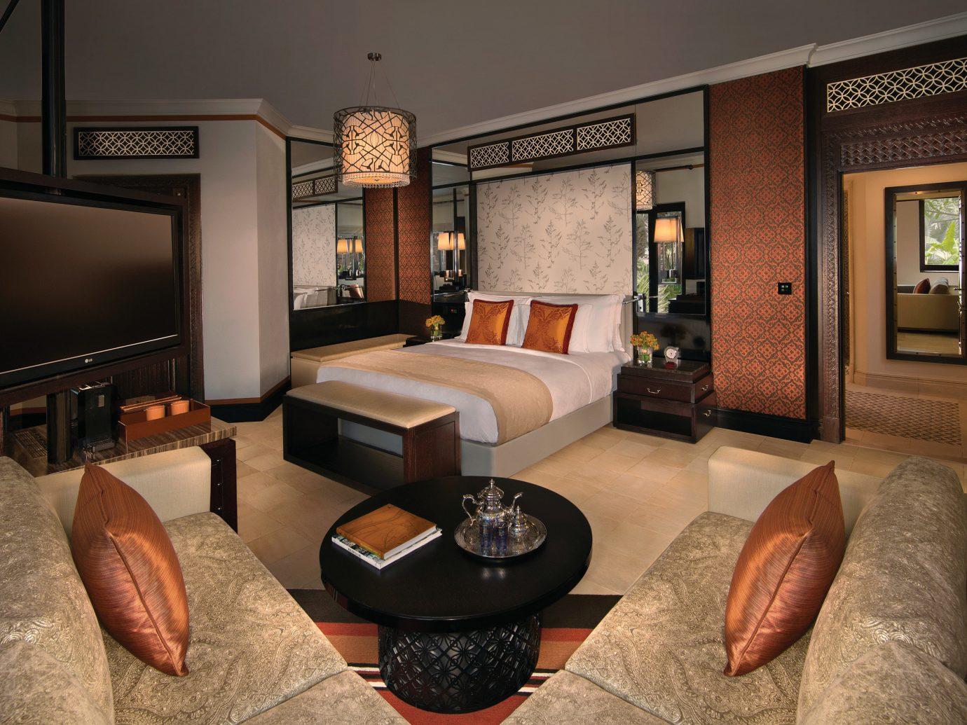 Dubai Hotels Luxury Travel Middle East indoor Living room sofa floor interior design furniture living room Suite hotel interior designer decorated flat Modern