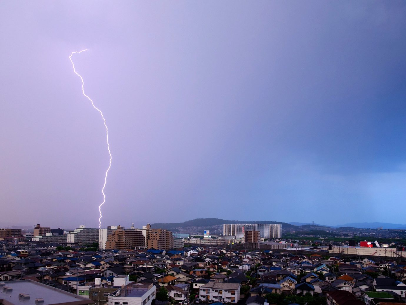 Arts + Culture sky outdoor lightning weather thunder thunderstorm atmosphere of earth storm cityscape dusk