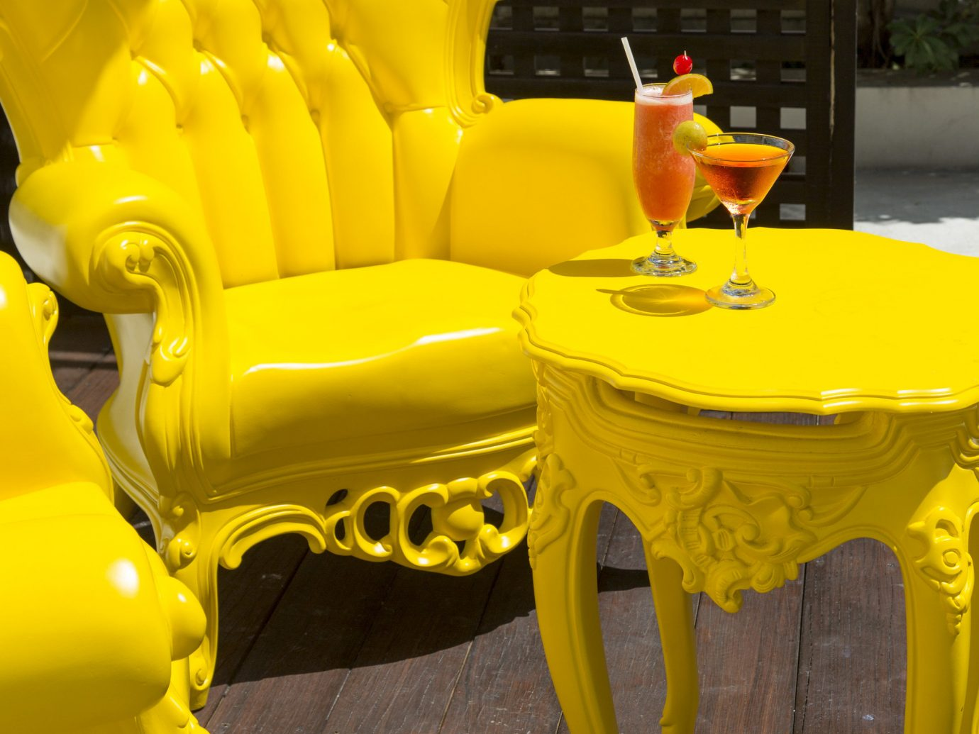 Hotels yellow furniture chair Play inflatable