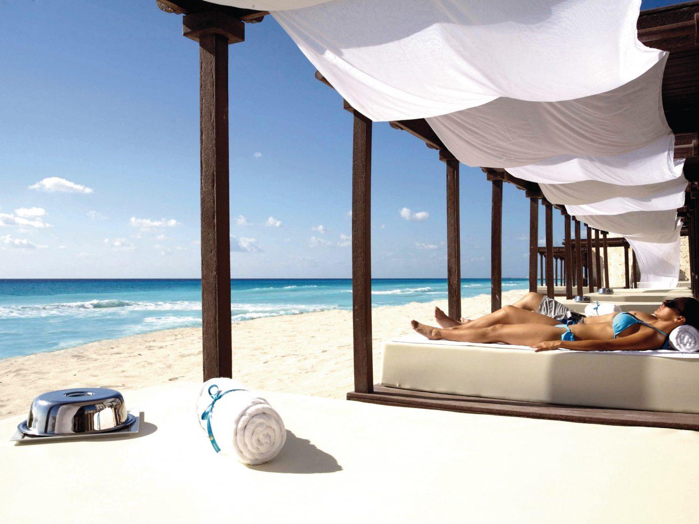 Hotels outdoor Sea vacation window Resort hotel interior design shore