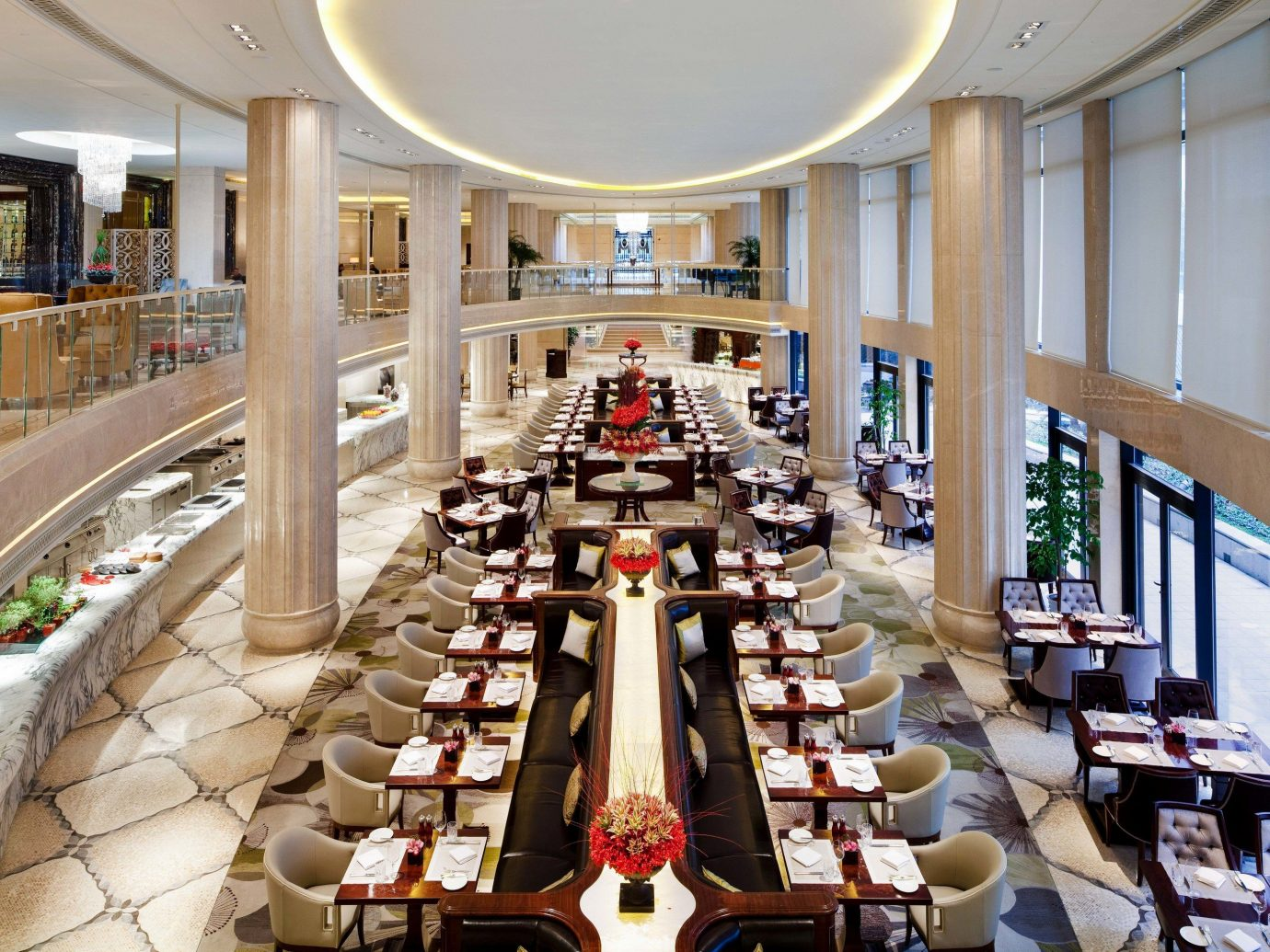 Boutique Hotels Luxury Travel indoor Lobby restaurant interior design furniture