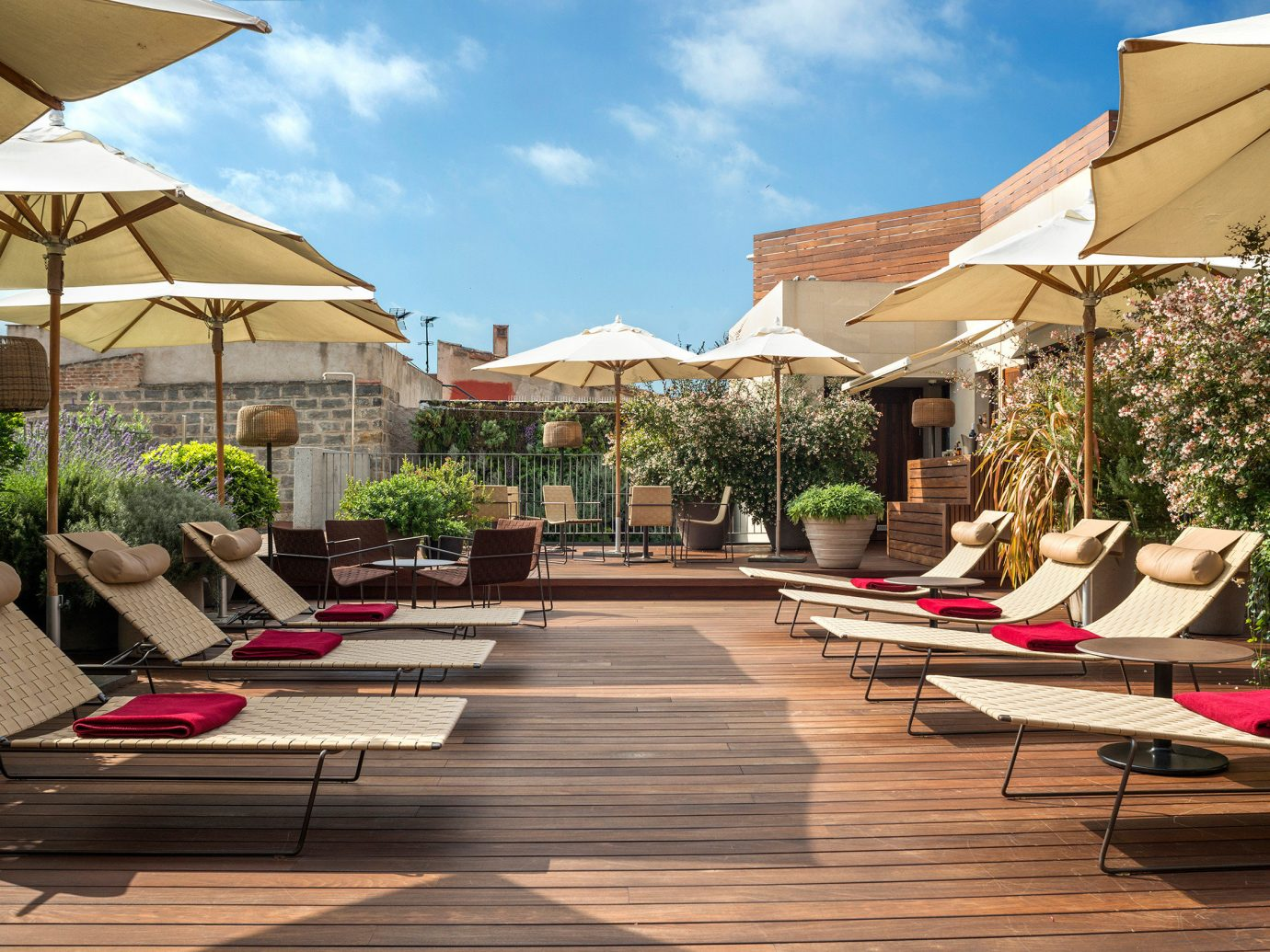 Boutique Boutique Hotels City Deck Hip Hotels Luxury Modern Rooftop sky building outdoor leisure Resort outdoor structure backyard estate home Courtyard swimming pool