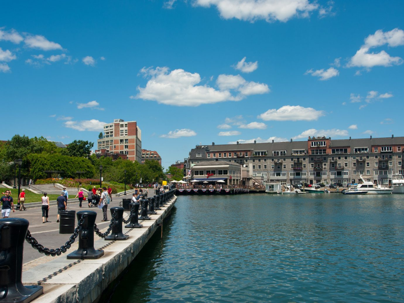 Harbor of Boston Massachusetts.